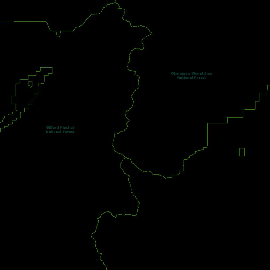 Region 6 Wilderness Map