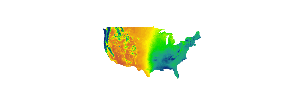 Map Of Annual Average Precipitation In The Us From 1981 To 2010. 3b ...