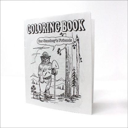 Smokey Bear Coloring Book - Cover
