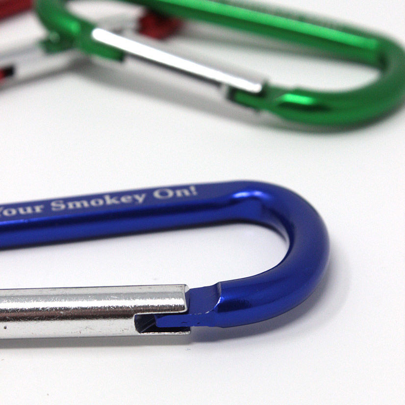 Get Your Smokey On - Carabiners clasp close up