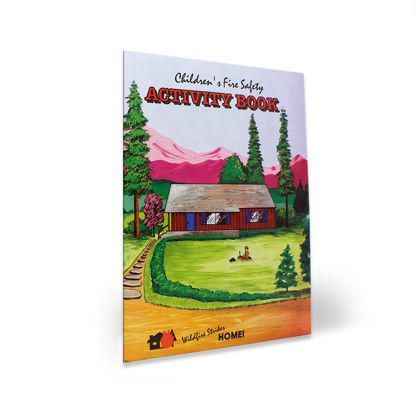 Children's Fire Safety Activity Book cover