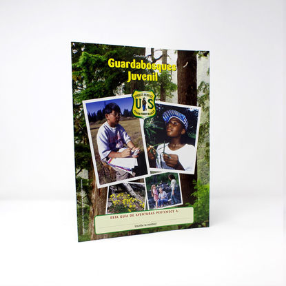 Junior Forest Ranger Adventure Guide - Spanish