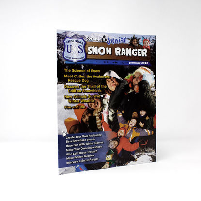 Junior Snow Ranger Activity Guide cover