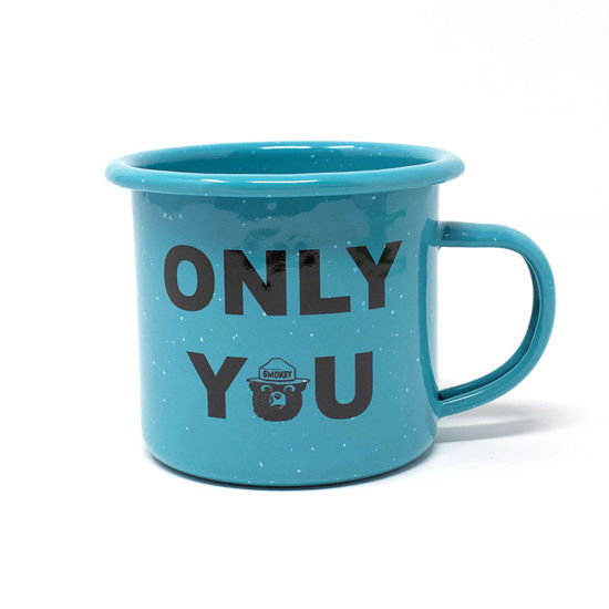 """Smokey Bear """"Only You"""" Camping Cup"""