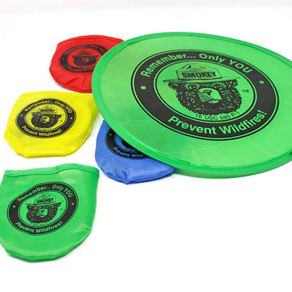 Smokey Bear Flying Disks - Set of Five