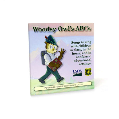 Woodsy Owl Audio CD