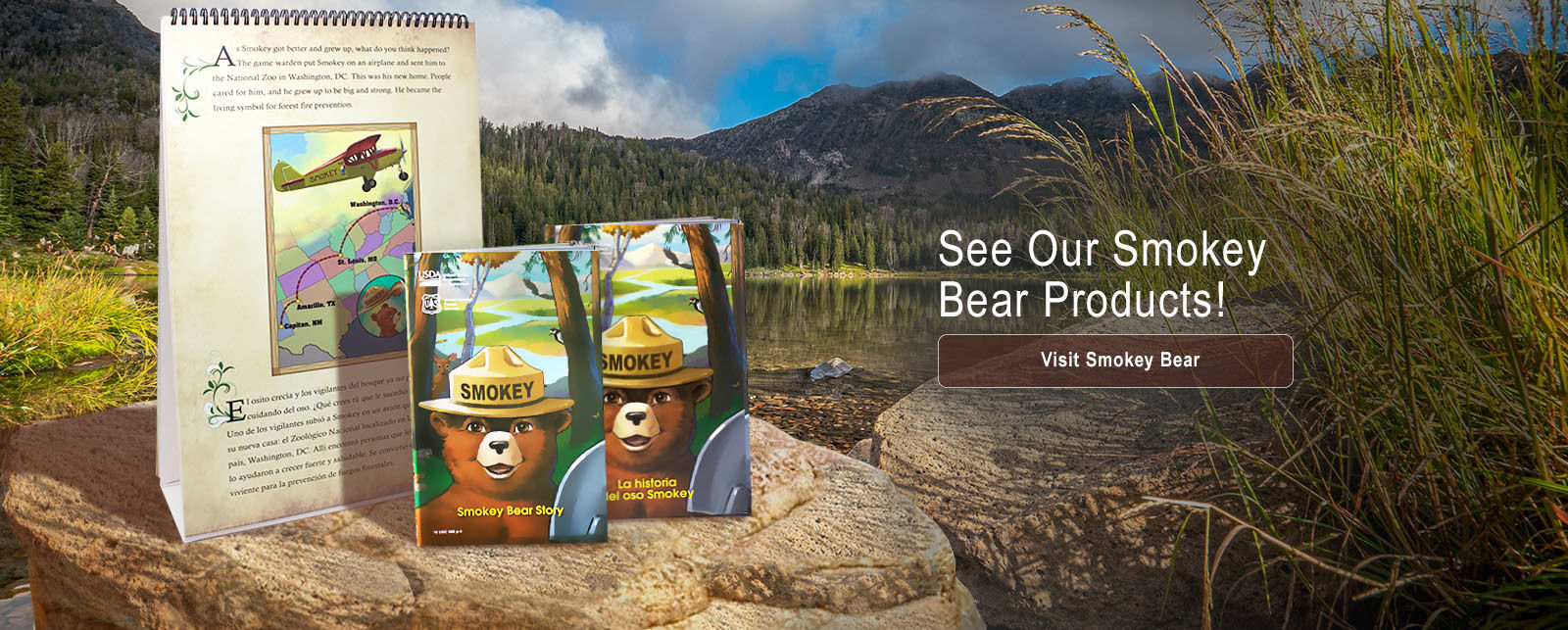 Symbols Cache Smokey Bear products