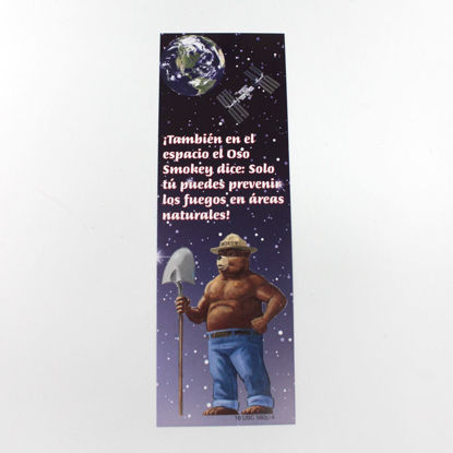 Picture of Smokey In Space Bookmark - Spanish (discontinued)