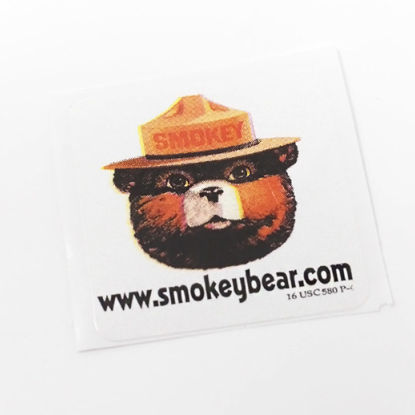 Picture of Smokey Bear Stickers