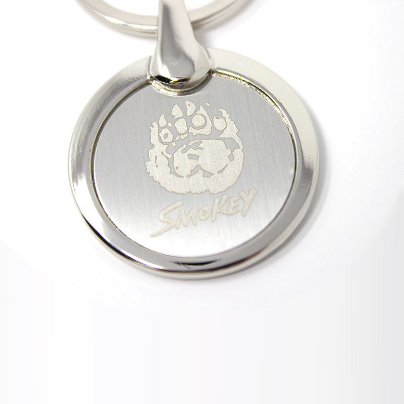 """Smokey Bear """"Paw"""" Keychain"""