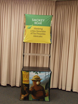 Picture of Smokey Bear Display