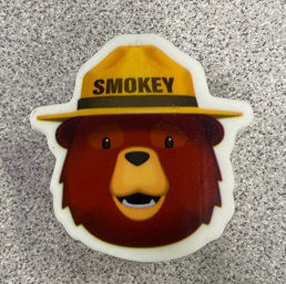 Picture of Smokey Bear Erasers (die-cut)