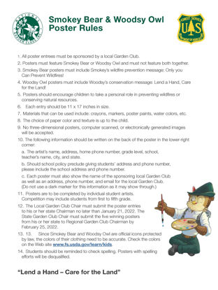 Picture of NGC Poster Contest - Rules