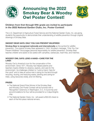 Picture of NGC Poster Contest Promotional Flyer